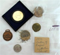 Coin Lot 11 -  Misc Medals & Coins