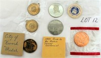 Coin Lot 12 -  Misc Medals & Coins