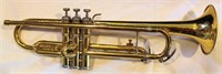 (No name) Trumpet, used, no mouthpiece, w/case (view 1)