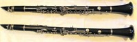 (2)  Used Normandy Clarinets, no cases, great cond