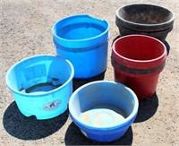 Plastic Tubs/Feed Pans