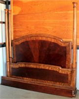 Ahsley 4-Poster King Head & Foot Boards, very nice piece