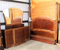 Dresser, Mirror & King Bed Set (view 4)