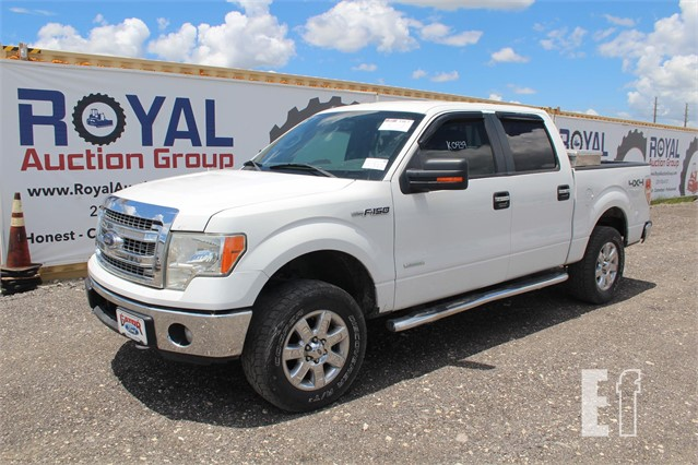 Ford Ford Auction >> Lot 1587 2013 Ford F150 Xlt