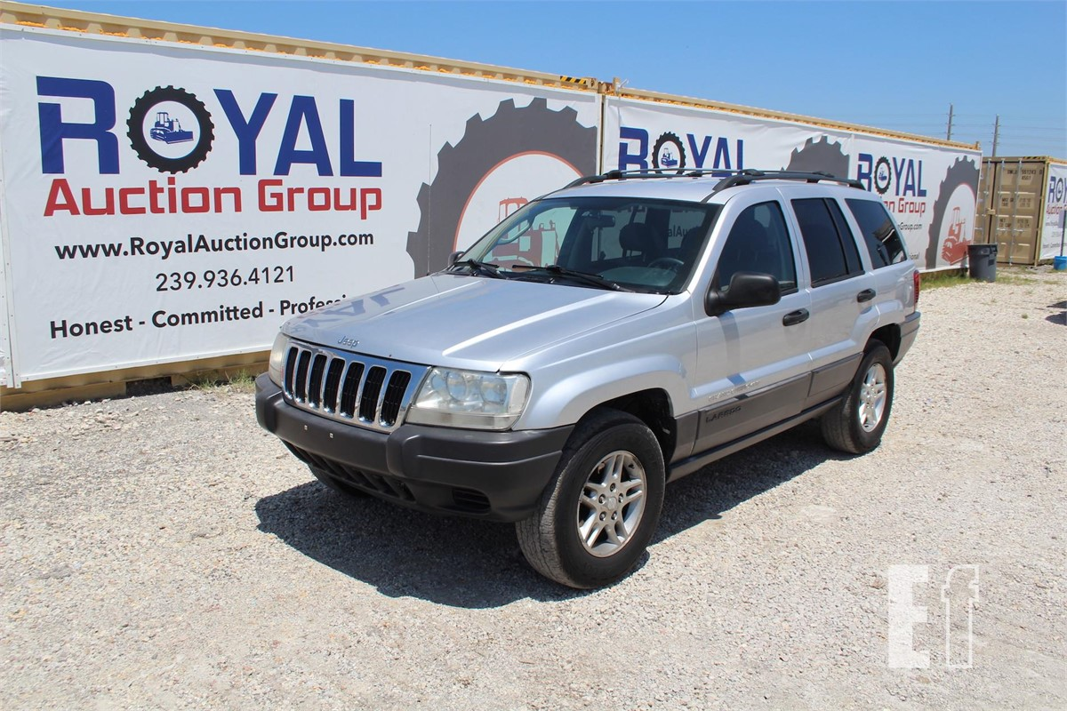 equipmentfacts com 2003 jeep grand cherokee online auctions 2003 jeep grand cherokee