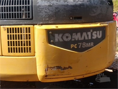 KOMATSU PC78MR-6 For Sale - 22 Listings | MachineryTrader