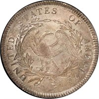$1 1795 3 LEAVES. PCGS MS64 CAC