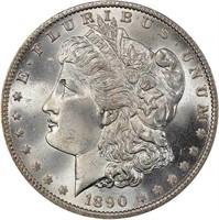 $1 1890-O PCGS MS66 CAC
