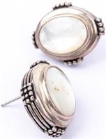 Jewelry Sterling Silver Pendant & Earrings