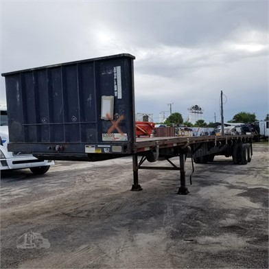 Flatbed Trailers For Sale In Orlando, Florida - 270 Listings