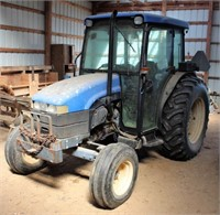 FARM EQUIPMENT - TRACTORS - TOOLS - ANTIQUES - FURNITURE & M