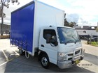 2017 Mitsubishi Canter Tautliner / Curtainsider