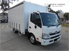 2016 Hino 300 Series Tautliner / Curtainsider