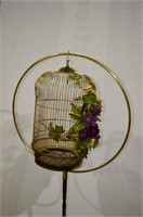"""Bird Cage on Stand, 66""""h"""