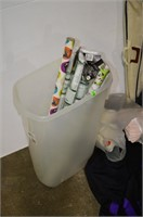 Grp, of Wrapping Paper Storage Tote, Duffle