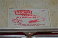 Craftsman Tap and Die Set
