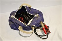 Duffle Bag with Jumper Cables, Road Flares