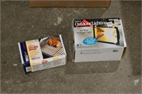 Large Box of Assorted Items - Flags, Lights,