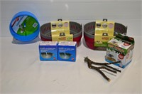 Box of Assorted Pet Items - Small Carriers,