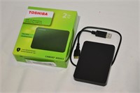 Toshiba 2TB Canvio Portable Hard Drive