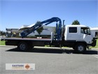 2001 Mitsubishi FM618 Crane Truck