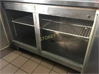 """90"""" S/S Refrigerated Back Service Counter"""