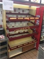 4 Tier Donut Display Rack - 54 x 34 x 79