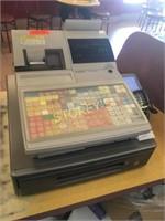 Casio TK-6500 Cash Register w/ Key