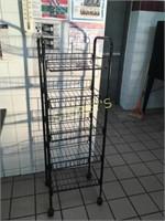 Black Mobile Rack