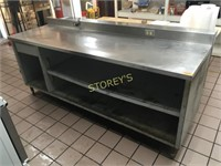 S/S Top Work Cabinet - 90 x 30 x 36
