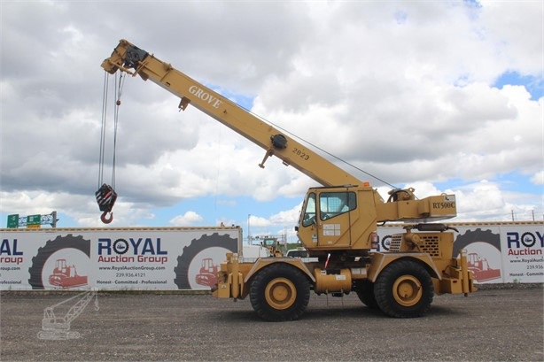 GROVE Cranes For Sale in Florida - 61 Listings | CraneTrader
