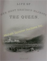 BOOKS LIFE OF HER MOST GRACIOUS MAJESTY THE QUEEN