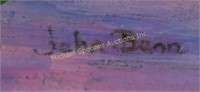 JOHN BENN - OIL ON BOARD