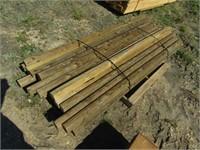 3x4x8' fence poles