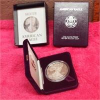 One Ounce Proof Silver Bullion Coin/American Eagle