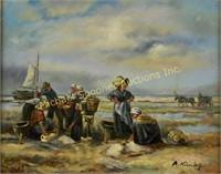 B. KINBG - OIL ON PANEL