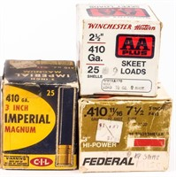 Ammo 450+ Rounds of 410 Bore Shotshells