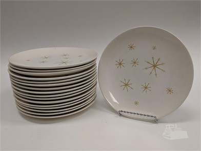 Swell Set Of 17 Mid Century Star Glow Starburst Plates Other Items Machost Co Dining Chair Design Ideas Machostcouk