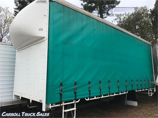 2012 Genuine Truck Bodies Curtainsider Carroll Truck Sales Queensland - Truck Bodies for Sale