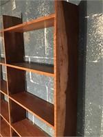 Custom built shelving