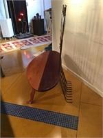 Custom made surfboard Bench