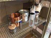 Collection of barware