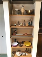 Kitchen shelves clean up