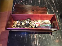 Box of assorted jewelry