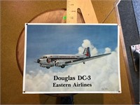 Douglas DC 3 tin sign