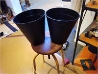 2 IKEA trash cans