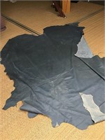 Dyed leather