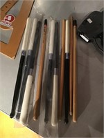 Collection of drumsticks