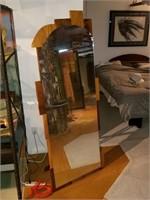 Six foot custom made dressing mirror.