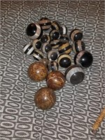 Collection of stone balls
